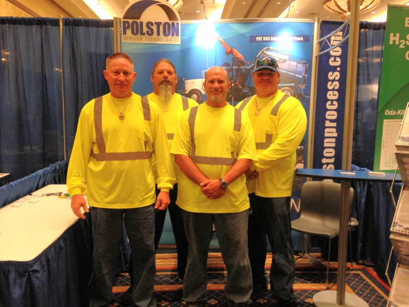 The PAT 949 Crew came to visit us at our exhibit booth