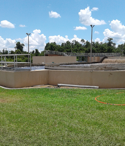 Lake Wales WWTP's Oxidation Ditch